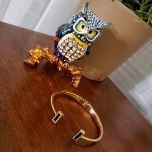 Kate Spade bar hinge bracelet
